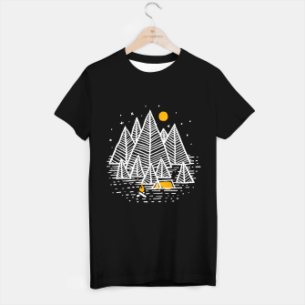 Miniatur Happy Camper T-shirt regular, Live Heroes