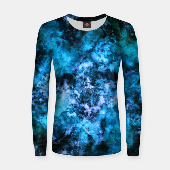 Thumbnail image of Blue burst Women sweater, Live Heroes