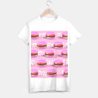 Thumbnail image of Pink Burgers T-shirt regular, Live Heroes
