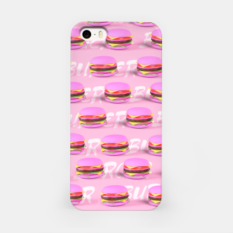 Thumbnail image of Pink Burgers iPhone Case, Live Heroes