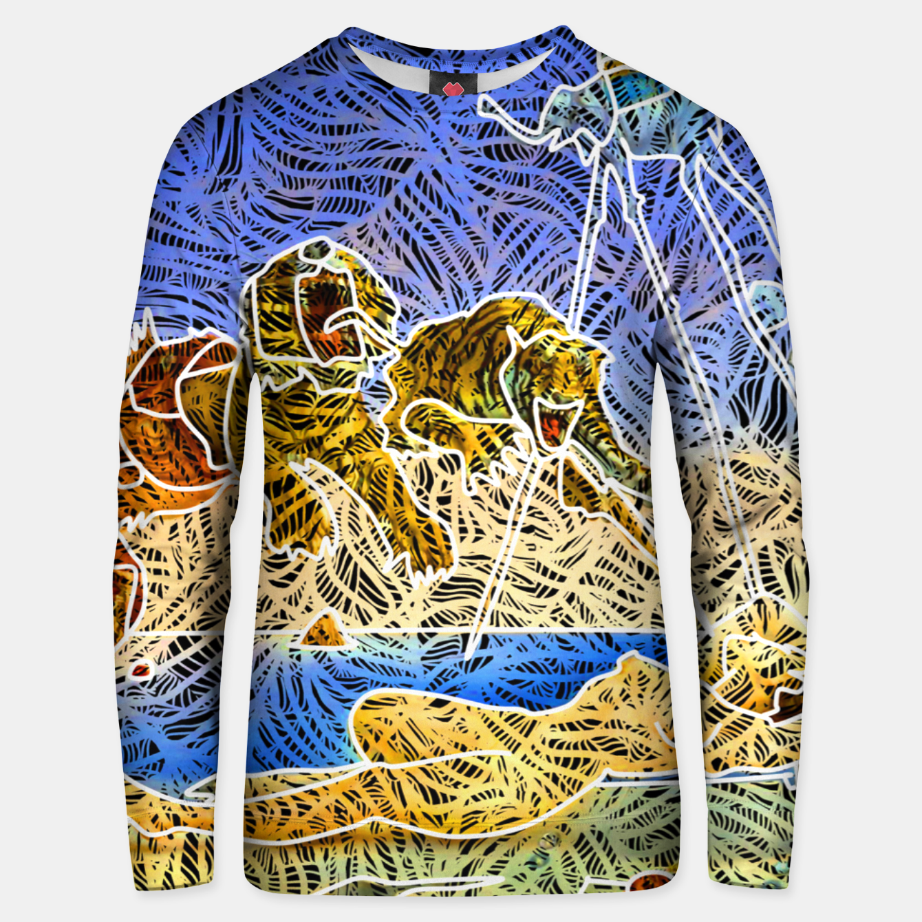 Image of d Unisex sweater - Live Heroes