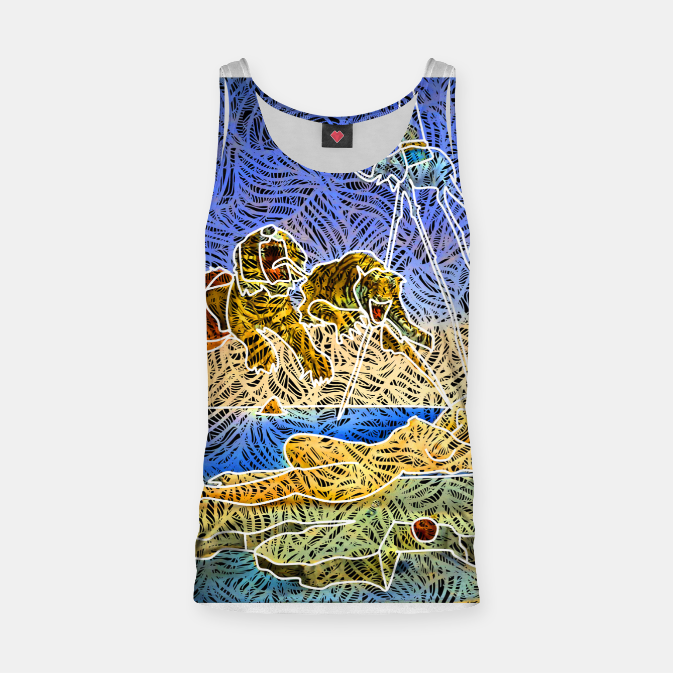Image of d Tank Top - Live Heroes