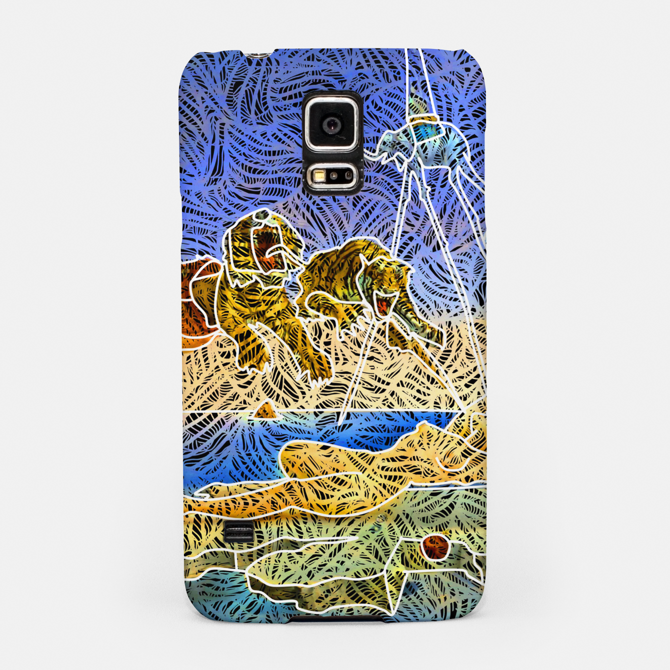 Image of d Samsung Case - Live Heroes