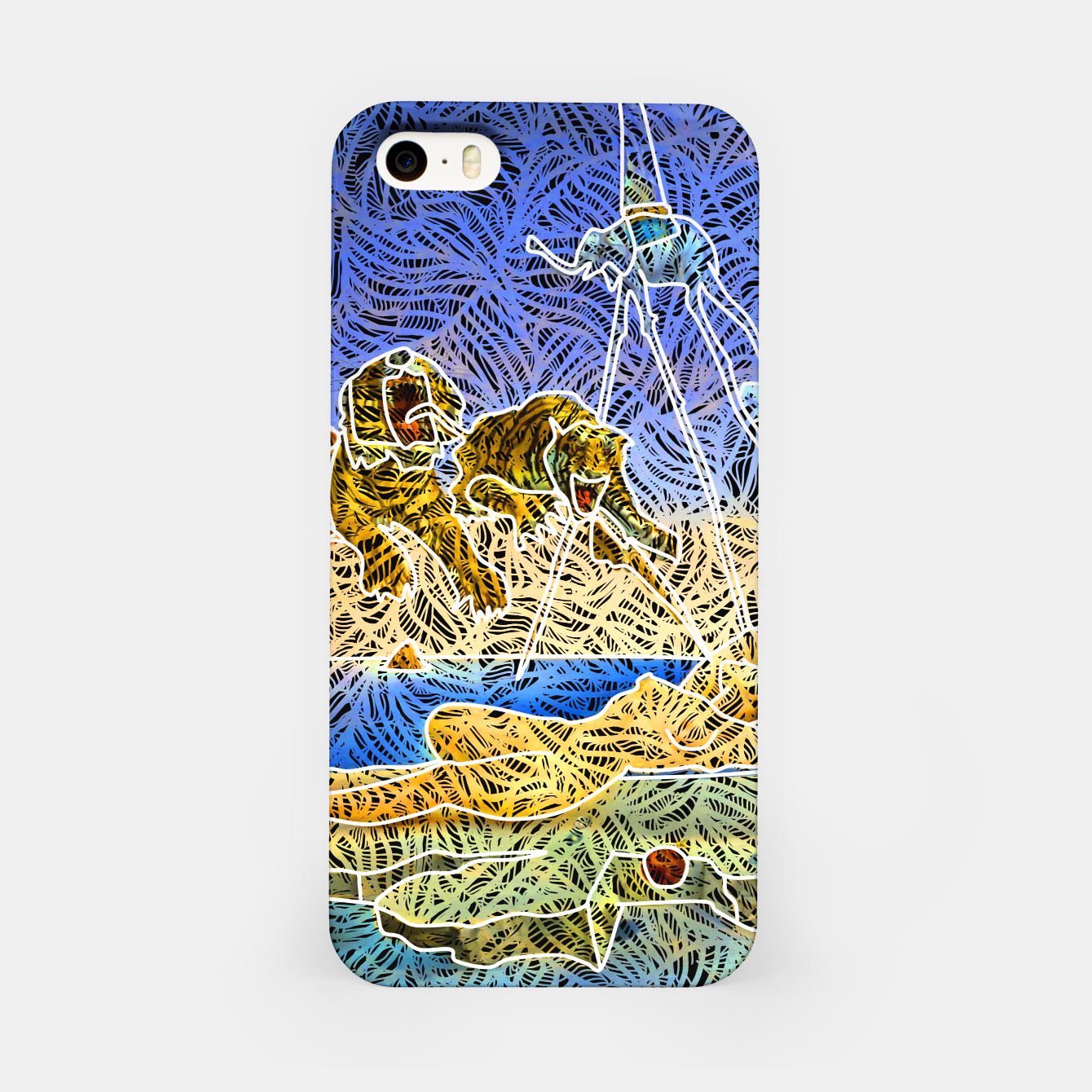 Image of d iPhone Case - Live Heroes