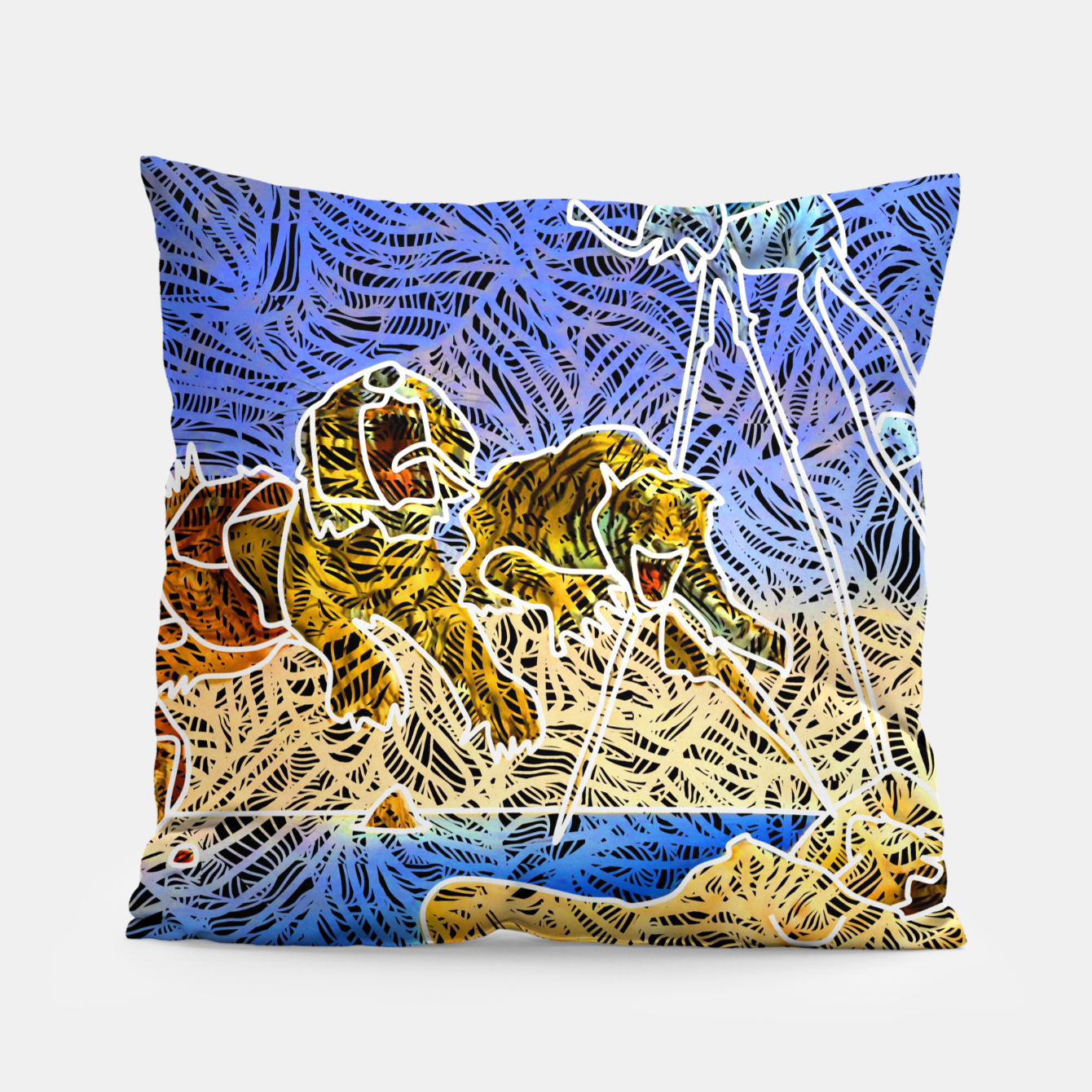 Image of d Pillow - Live Heroes