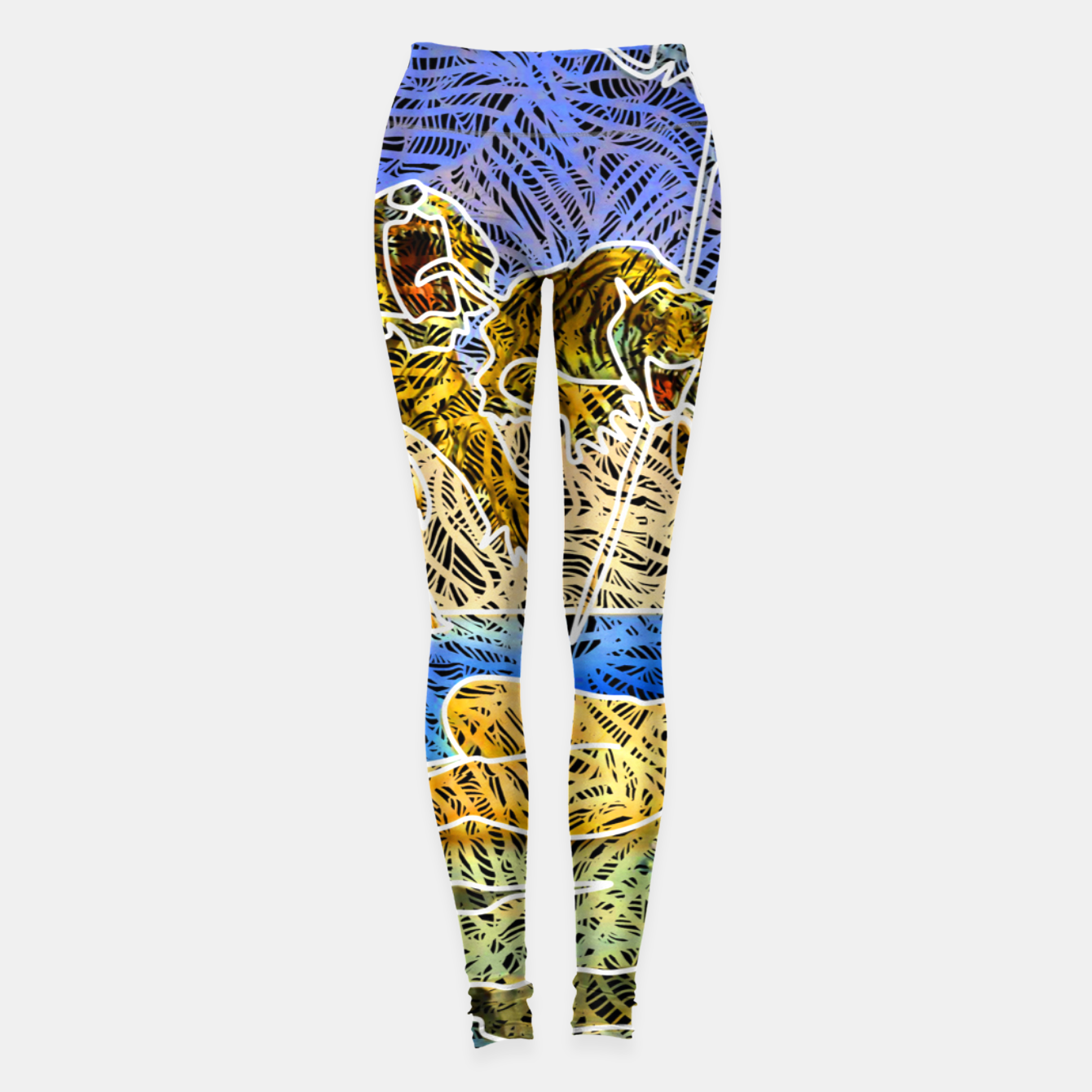 Image of d Leggings - Live Heroes
