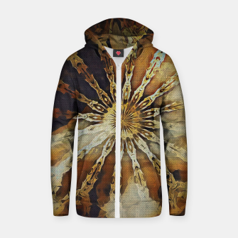 Thumbnail image of wheel of time Zip up hoodie, Live Heroes