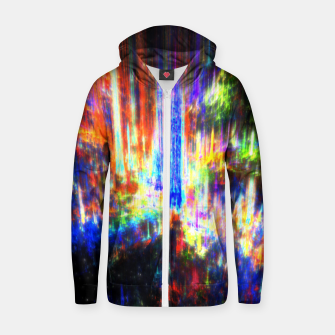Thumbnail image of Aurora Zip up hoodie, Live Heroes