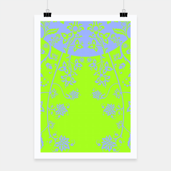 Thumbnail image of floral ornaments pattern rgim90 Poster, Live Heroes