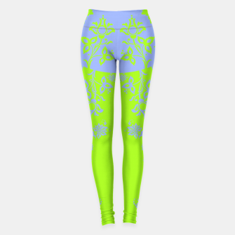 Thumbnail image of floral ornaments pattern rgim90 Leggings, Live Heroes