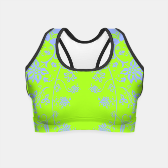 Thumbnail image of floral ornaments pattern rgim90 Crop Top, Live Heroes