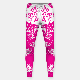 Thumbnail image of floral ornaments pattern wbp120 Sweatpants, Live Heroes