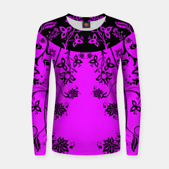 Thumbnail image of floral ornaments pattern wbim90 Women sweater, Live Heroes