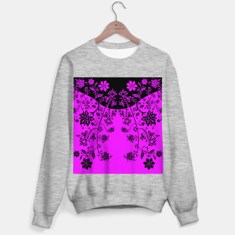 Thumbnail image of floral ornaments pattern wbim90 Sweater regular, Live Heroes