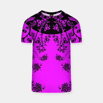 Thumbnail image of floral ornaments pattern wbim90 T-shirt, Live Heroes
