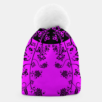 Thumbnail image of floral ornaments pattern wbim90 Beanie, Live Heroes