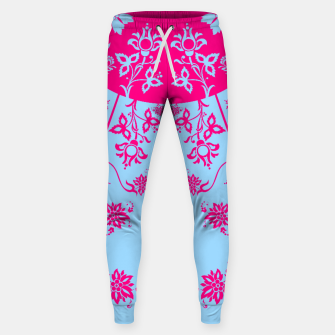 Thumbnail image of floral ornaments pattern voip120 Sweatpants, Live Heroes