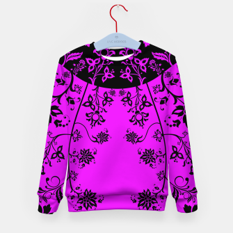 Thumbnail image of floral ornaments pattern wbim90 Kid's sweater, Live Heroes