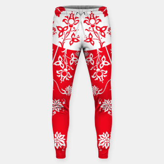 Thumbnail image of floral ornaments pattern wbp150 Sweatpants, Live Heroes