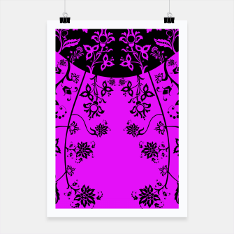Thumbnail image of floral ornaments pattern wbim90 Poster, Live Heroes