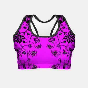 Thumbnail image of floral ornaments pattern wbim90 Crop Top, Live Heroes