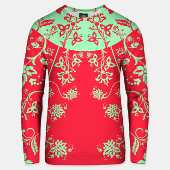floral ornaments pattern rgim180 Unisex sweater thumbnail image