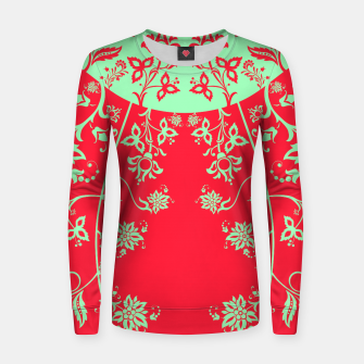 floral ornaments pattern rgim180 Women sweater thumbnail image
