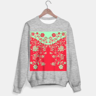 floral ornaments pattern rgim180 Sweater regular thumbnail image