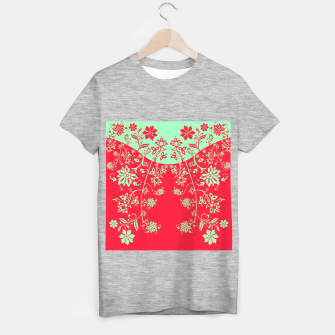 floral ornaments pattern rgim180 T-shirt regular thumbnail image