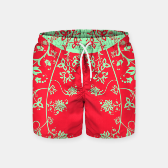 floral ornaments pattern rgim180 Swim Shorts thumbnail image