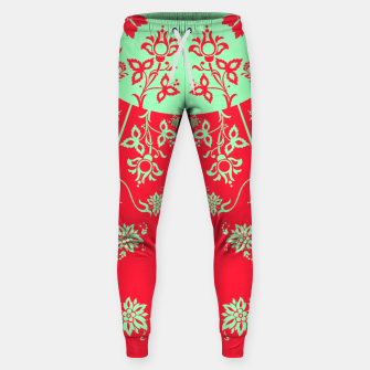 floral ornaments pattern rgim180 Sweatpants thumbnail image