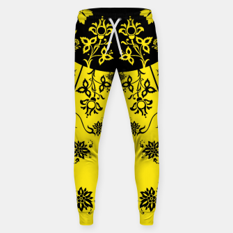 Thumbnail image of floral ornaments pattern wbip30 Sweatpants, Live Heroes