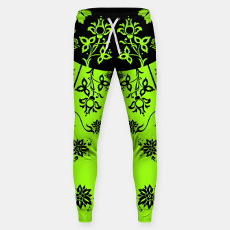 Thumbnail image of floral ornaments pattern wbip60 Sweatpants, Live Heroes