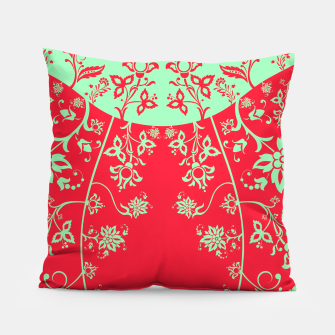 floral ornaments pattern rgim180 Pillow thumbnail image