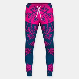 Thumbnail image of floral ornaments pattern vom60 Sweatpants, Live Heroes