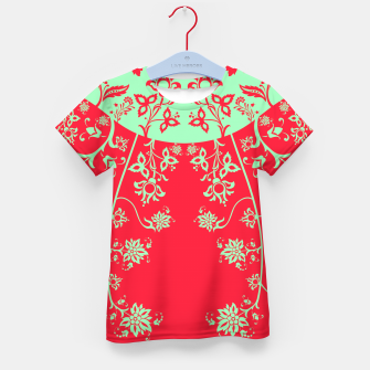 floral ornaments pattern rgim180 Kid's t-shirt thumbnail image