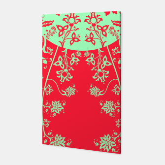 floral ornaments pattern rgim180 Canvas thumbnail image