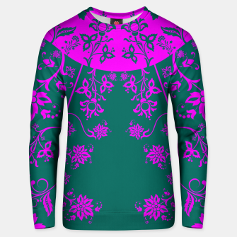Thumbnail image of floral ornaments pattern vom90 Unisex sweater, Live Heroes