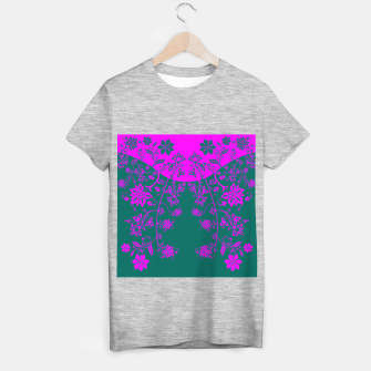 Thumbnail image of floral ornaments pattern vom90 T-shirt regular, Live Heroes
