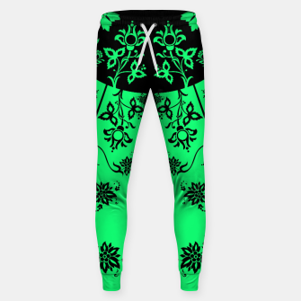 Thumbnail image of floral ornaments pattern wbip120 Sweatpants, Live Heroes