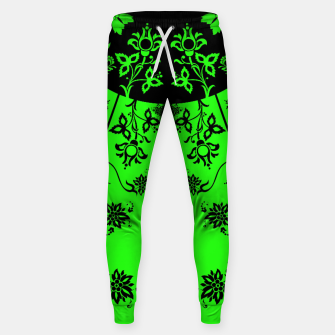 Thumbnail image of floral ornaments pattern wbip90 Sweatpants, Live Heroes