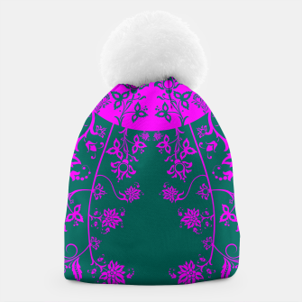 Thumbnail image of floral ornaments pattern vom90 Beanie, Live Heroes