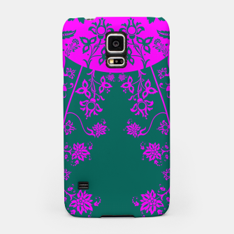 Thumbnail image of floral ornaments pattern vom90 Samsung Case, Live Heroes