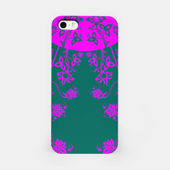 Thumbnail image of floral ornaments pattern vom90 iPhone Case, Live Heroes