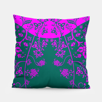 Thumbnail image of floral ornaments pattern vom90 Pillow, Live Heroes