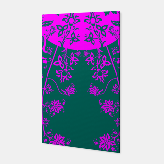 Thumbnail image of floral ornaments pattern vom90 Canvas, Live Heroes