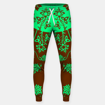 Thumbnail image of floral ornaments pattern vop120 Sweatpants, Live Heroes