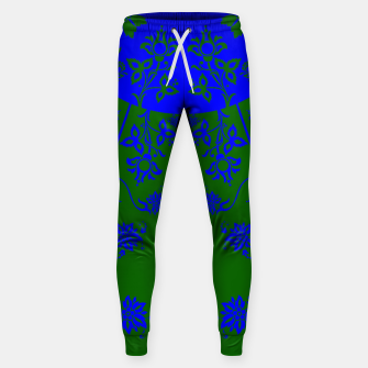 Thumbnail image of floral ornaments pattern vom150 Sweatpants, Live Heroes