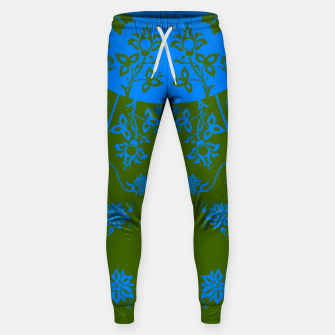 Thumbnail image of floral ornaments pattern vom180 Sweatpants, Live Heroes