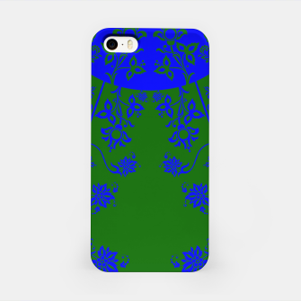 floral ornaments pattern vom150 iPhone Case Bild der Miniatur